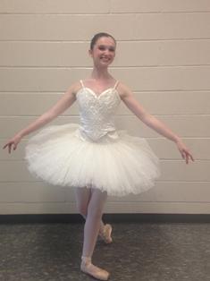 Junior performs in 'Little Mermaid' ballet