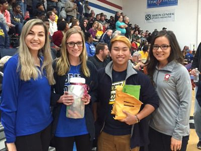 Student Council holds food drive competition