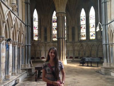 Revere sophomore studies at Cambridge