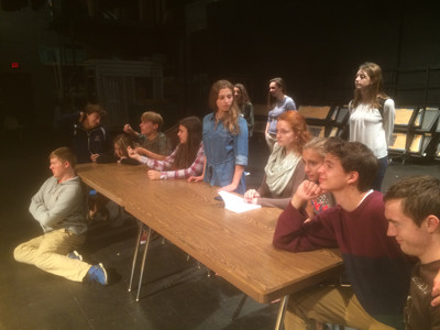 Revere Players perform 'Alice in Wonderland'