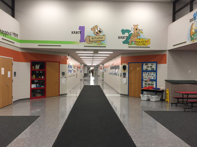 Hillcrest Elementary is where the new kindergarteners will receive their education.