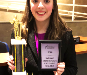Speech and Debate Team competes at states