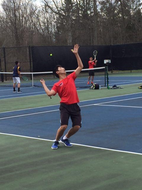 Mens tennis continues a strong season