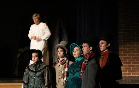 Players present 'A Christmas Carol' for winter season