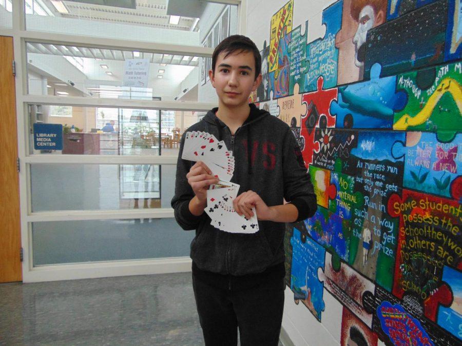Freshman magician flabbergasts staff