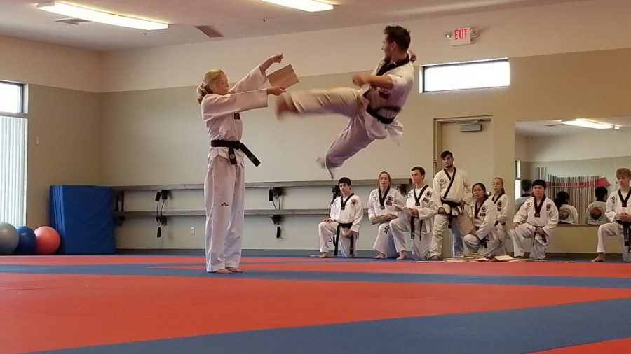 Junior earns black belt in martial arts