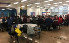 Student clubs host middle ground event
