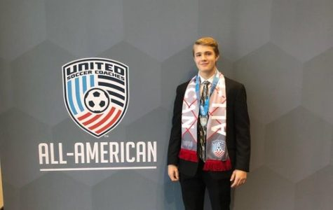 Soccer captain earns All-American title