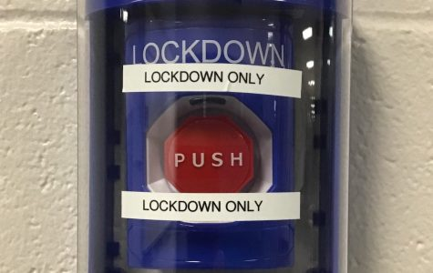 The new lockdown buttons are installed in all schools except the current high school, and will be in the new high school.