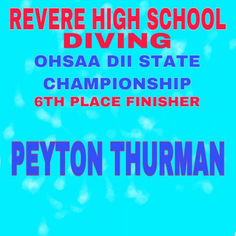 Peyton Thurman places sixth in the state for diving
