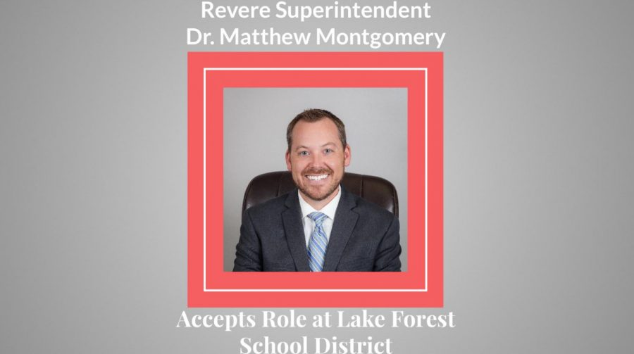 Revere superintendent accepts role at Lake Forest School District