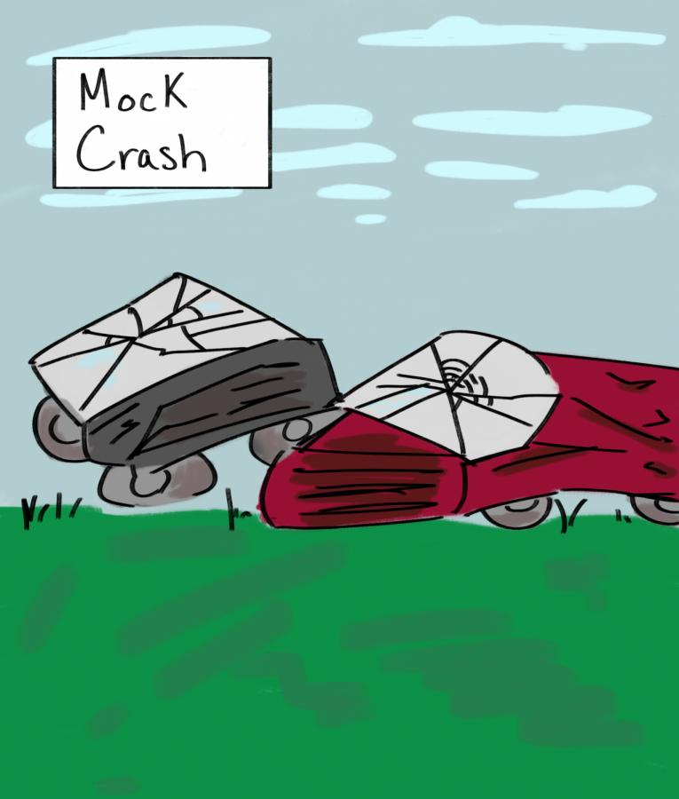 Teen Institute host semi-annual mock crash