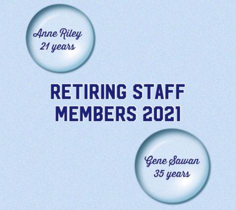 RHS bids farewell to two retiring staff members