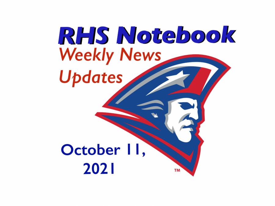 RHS Notebook: Week of October 11, 2021