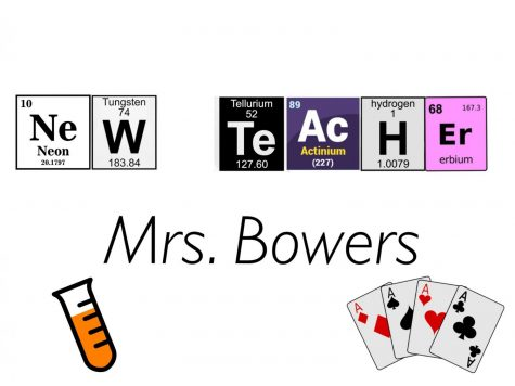 New teacher combines chemistry and card games