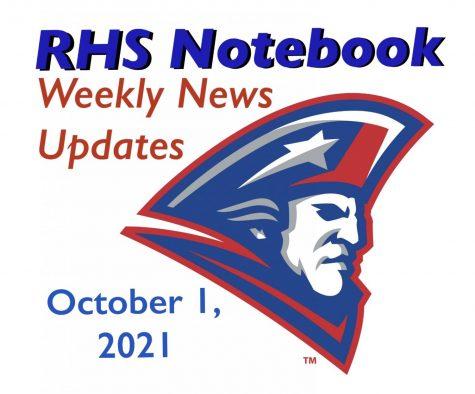 RHS Notebook: Week of October 1, 2021